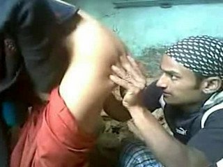 Indian Devar ass fucking brother wife in under construction house