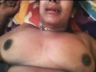 Desi aunty fucked with cock and banana hot moans