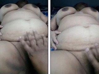 Big bobbs desi bhabhi fucking and fingering by hubby