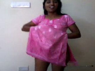 Horny south Housewife Andhra Aunty stripping