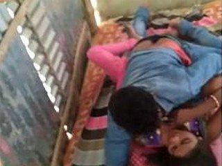 Desi lovers caught fucking on hidden cam
