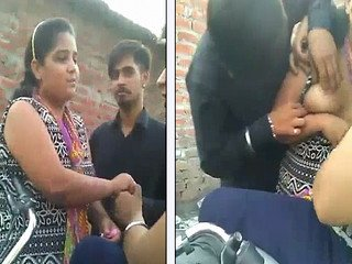Punjabi College Girl Hot Boobs Open In Outdor