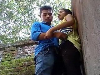 Indian College Girl with Lover Fuck
