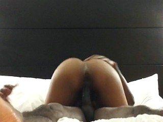 DESI WIFE RIDE SO hard that i cum inside her