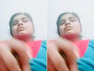 Today Exclusive- Horny Mallu Girl masturbating with Banana
