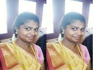 Today Exclusive- Cute Tamil Girl Record Nude Selfie For Lover