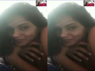 Today Exclusive- Desi Girl Tech Her Lover Part 4