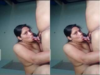 Today Exclusive- Sexy Bhabhi Blowjob and Ridding Boos Dick
