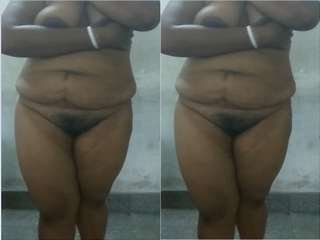 Today Exclusive- Desi bhabi Showing Her Nude Body part 5