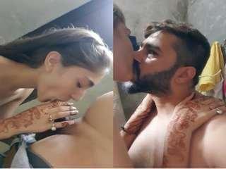 Today Exclusive- Beautiful Paki Wife Blowjob