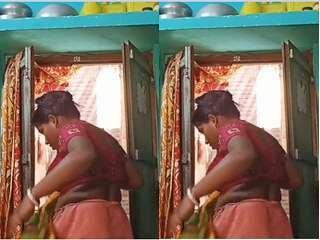 Today Exclusive -Desi Bhabhi Changing Cloths