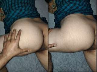 Today Exclusive- Big Ass Desi Wife Fucked