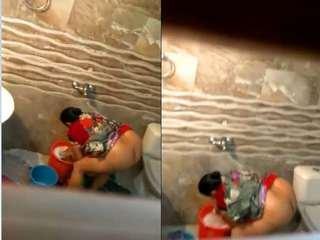Today Exclusive- Big Ass Desi Bhabhi Video Record In Hidden Cam