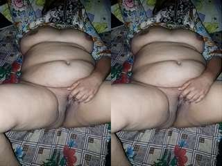 Today Exclusive- Paki Bhabhi Nude Video Record By Lover