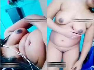 Today Exclusive- Sexy Desi Girl Showing Nude Body On Video Call