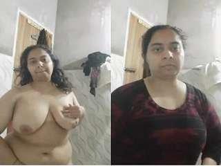 Today Exclusive- Paki Bhabhi Bathing part 2