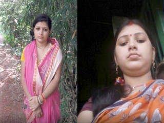 Exclusive- Cute indian boudi fucking with husband