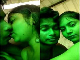 Exclusive- Desi Clg Lover Kissing