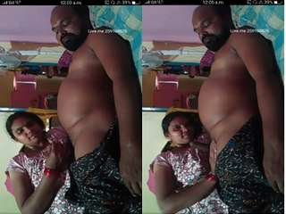 Today Exclusive- Horny Tamil Couple Romance and Handjob On Liver app Show
