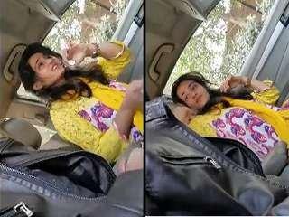 Today Exclusive- Super Hot Look Desi Pak Girl Blowjob In Car