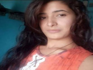 Beautiful Desi Indian Girl Showing For Bf