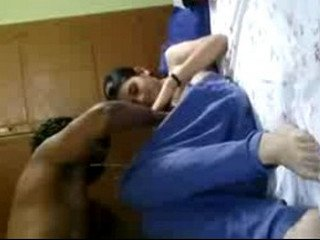 Desi Indian couple fuck in room