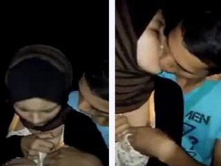 Nice couple Forced to kiss and touch boobs