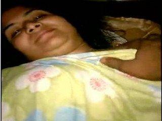 desi bhabhi in hotel enjoying with young guy boobs N nips exposed with  hindi audio