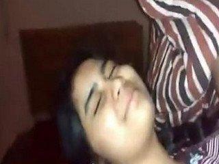 Desi girl captures her aunty ass
