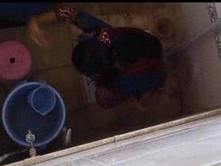 Desi college girl pissing caught in bathroom hidden camera