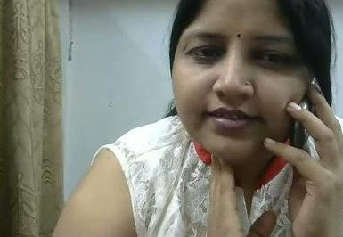 Desi horny aunty phone chat with lover wid dirty hindi audio