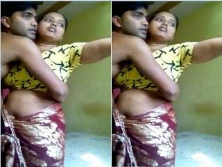 Today Exclusive- Desi Shy Bhabhi Romance With Deawar In hotel
