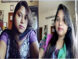 Today Exclusive-Horny Desi Girl Showing Her Boobs and Pussy On Video Call