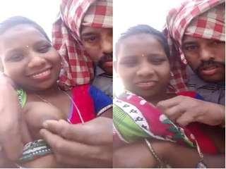Today Exclusive- Desi Village Lover OutDoor Romance