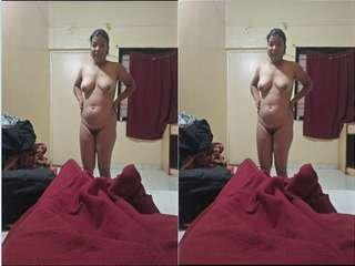 Today Exclusive- Cute Sali Record Nude Selfie For Jiju