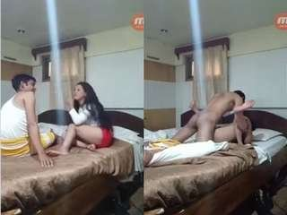 Today Exclusive-Desi Bhabhi  Ridding Hubby Dick