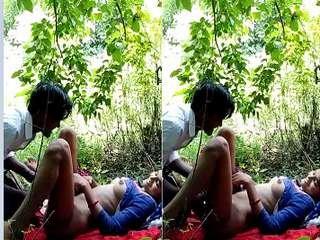 Today Exclusive- Desi Girl OutDoor Fucking