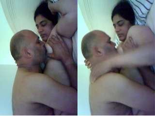 Today Exclusive- Horny Punjabi Couple Romance And Fucked Part 1