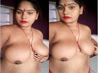 Today Exclusive- Sexy Desi Girl Showing Her Big Boobs and Wet Pussy Part 3