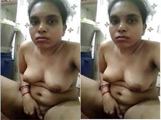 Today Exclusive- Tamil Wife Record Nude Selfie