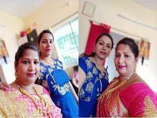 Today Exclusive- Sexy Desi Bhabhi Blowjob
