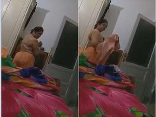 Today Exclusive- Boudi Cloths Changing Record By Hubby