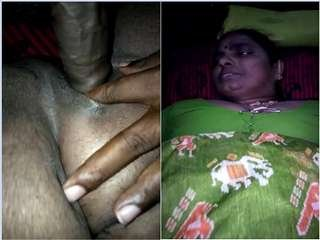 Today Exclusive- Desi Mature Tamil Aunty hard Fucked By Lover Part 2