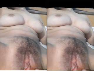 Today Exclusive- Desi Girl Pussy Fingerring and Fucked By Lover