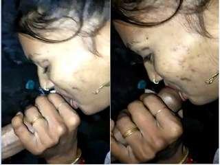 Today Exclusive- Desi Randi Blowjob