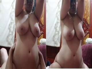 Today Exclusive- Horny Paki Bhabhi Ridding Dick part 1