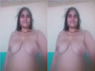 Today Exclusive- Village Bhabhi Showing Her Nude Body Part 11