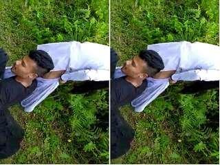 Exclusive- Desi Clg Girl Ridding Lover Dick Outdoor Sex