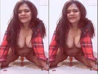 Today Exclusive- Ishika Bhabhi Anal Fucked BY Hubby