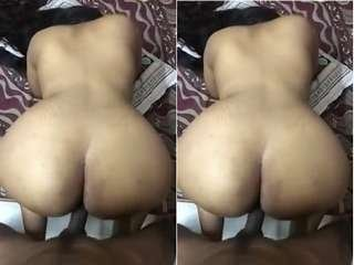 Today Exclusive- Tamil Wife Fucked In Doggy Style